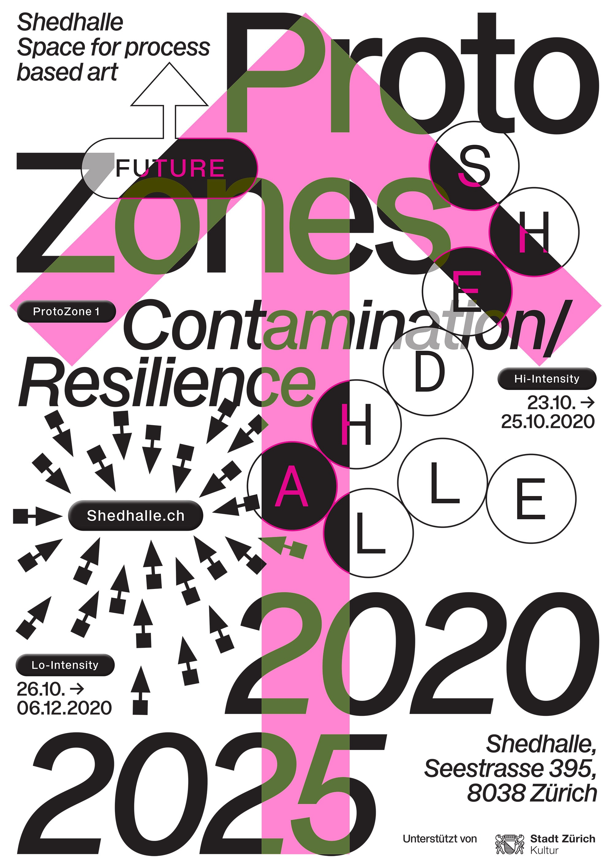 Shedhalle – Protozones 2020-2025 media conference